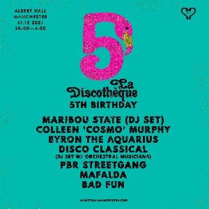 La Discothèque 5th Birthday