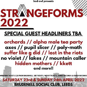 Strangeforms 2022