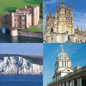 Leeds Castle, Canterbury, Dover & Greenwich River Boat Ride