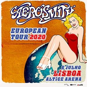 Aerosmith European Tour 2020
