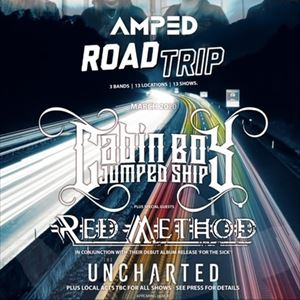 AMPED Road Trip - Ft. Cabin Boy Jumped Ship + more