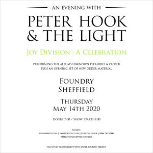 An Evening with Peter Hook & The Light