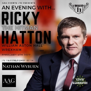 """An Eventing with Ricky """"Hitman"""" Hatton"""