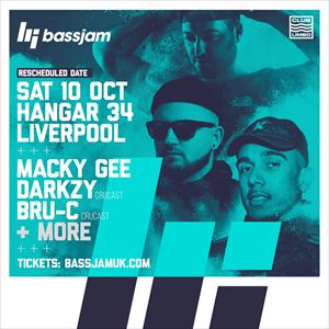 BassJam Presents: Macky Gee, Darkzy & Bru-C