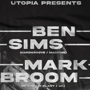 Ben Sims + Mark Broom Friday 17th December @ Mint
