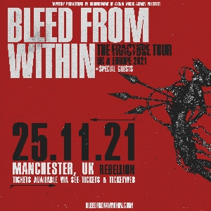 Bleed From Within - Manchester