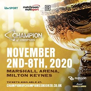 Champion Of Champions Snooker
