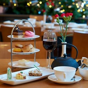 Christmas at Waddesdon + Afternoon Tea