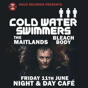 Deco records Presents Cold Water Swimmers & Guests