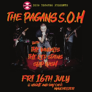 Deco Records presents The Pagans S.O.H & Guests