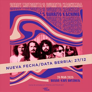 Derby Motoreta´s Burrito Kachimba