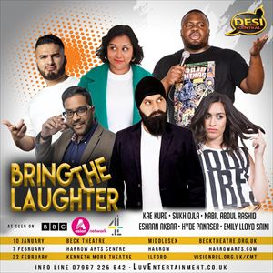 Desi Central - Bring The Laughter
