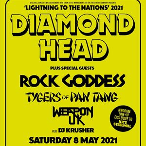 Diamond Head plus Tygers of pan tang
