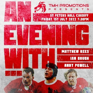 Evening with Andy Powell, Ian Gough, Matthew Rees