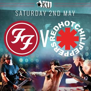 FU Fighters VS Uk Chili Peppers