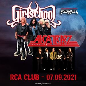 Girlschool + Alcatrazz @ RCA Club