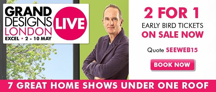 Grand Designs Live Early Bird offer ends 31 January