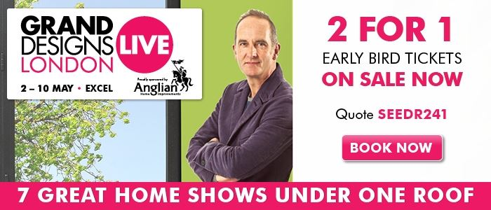Grand Designs Live 241 offer ends 28 February
