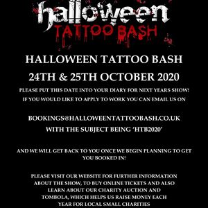 Halloween Tattoo Bash 2020
