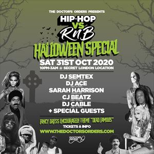 Hip-Hop vs RnB - Halloween Special
