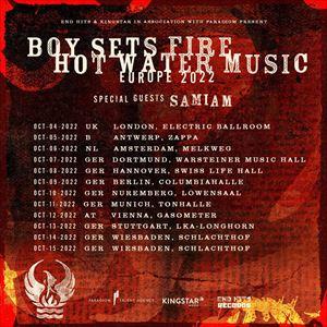 Hot Water Music And Boysetsfire