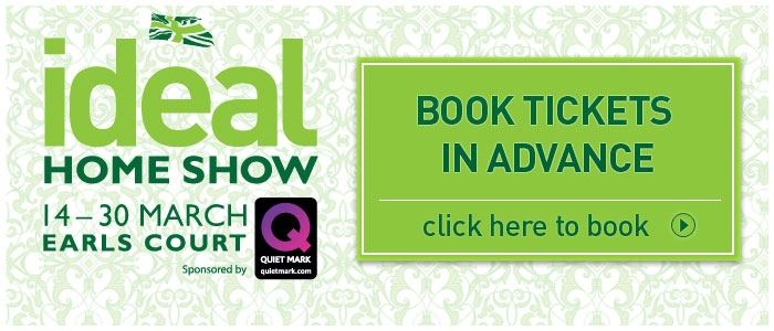 Ideal Home Show opens on Friday!
