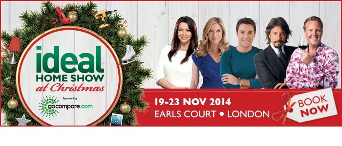 Ideal Home Show at Christmas is now open!