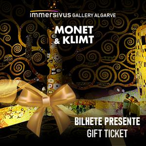 IGA - Impressive Monet & Klimt Bilhete Presente