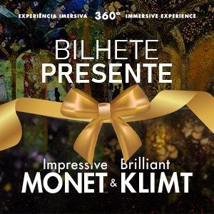IGL - Impressive Monet &  Klimt Bilhete Presente