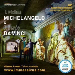 Il Divino Michelangelo & Il Genio Da Vinci