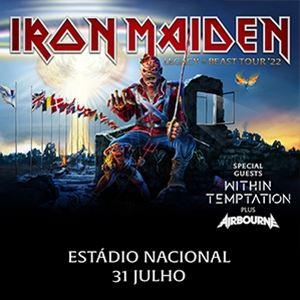 "Iron Maiden ""Legacy Of The Beast Tour 2022"""