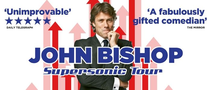John Bishop - Tour now on!