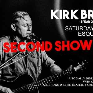 Kirk Brandon socially distanced show