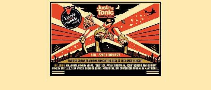 Just The Tonic - Leicester Comedy Festival 2015