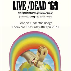 "LIVE DEAD '69 perform ""Europe 72'"