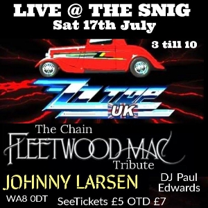 Live @ The Snig ZZ Top UK