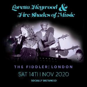 Loretta Heywood & Five Shades | Socially Distanced
