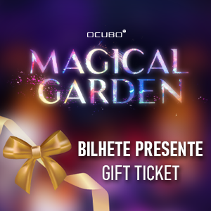 Magical Garden Belem Bilhete Presente