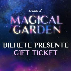 Magical Garden Porto Bilhete Presente