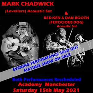 Mark Chadwick, Red Ken & Dan Booth (matinee Show)