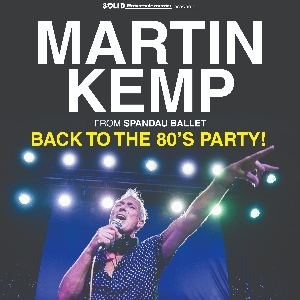 Martin Kemp Back To The 80's Party