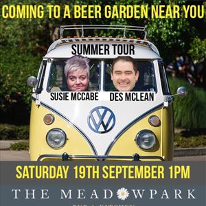 McCabe & McLean Comedy Beer Garden tour