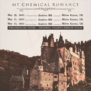 My Chemical Romance - Return Coach Travel Only