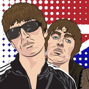 Oasis v The Stone Roses feat Loaded live.