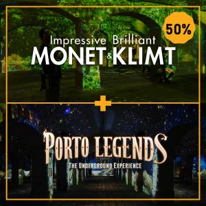 Porto Legends - Impressive Monet & Brilliant Klimt
