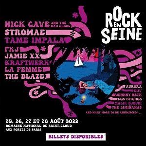 ROCK EN SEINE - FORFAIT 3JOURS - VEN-SAM-DIM