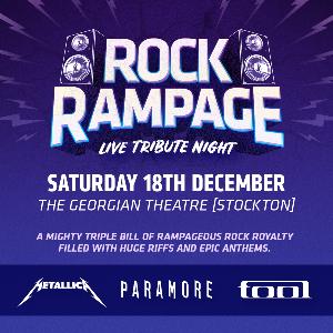 Rock Rampage Metallica Paramore Tool Tribute Bands