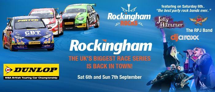 British Touring Car Championships at Rockingham