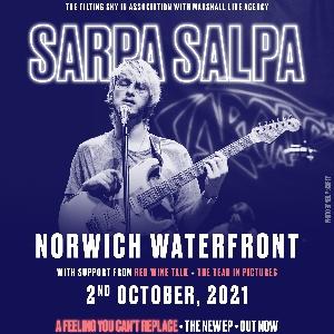 Sarpa Salpa live at Norwich Waterfront