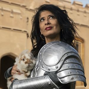 Shappi Khorsandi: Skittish Warrior